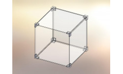 Cubo espositore in KIT 1x1