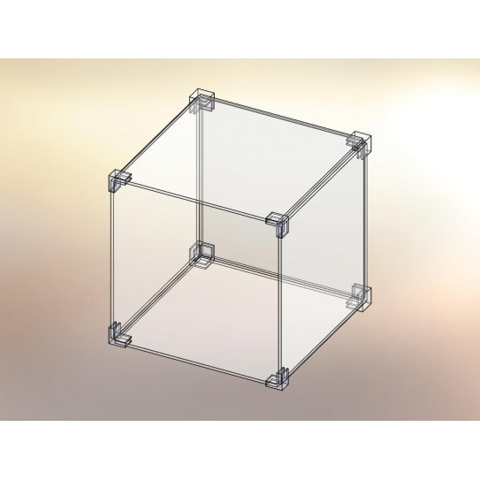 Cubo espositore in KIT 1x1