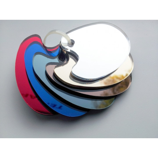 Mazzetta colori Plexiglas® a Specchio
