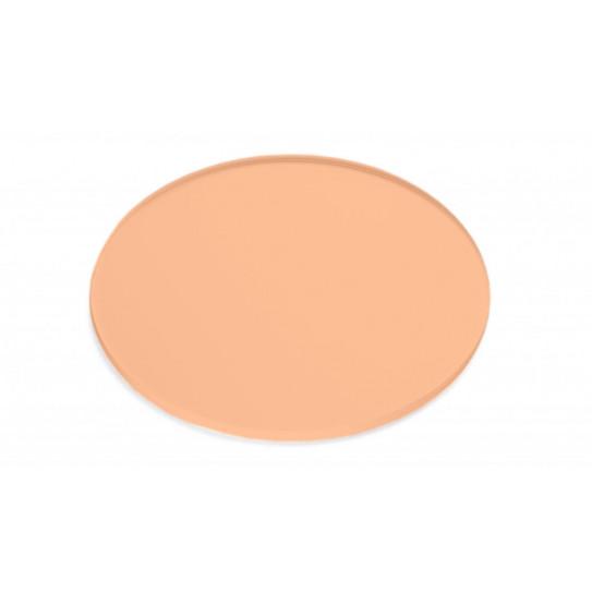 Disco in Plexiglas® trasparente colorato