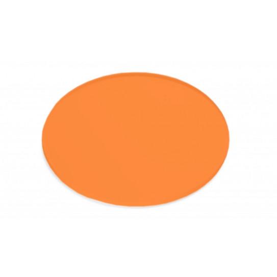 Disco in Plexiglas® opaco colorato