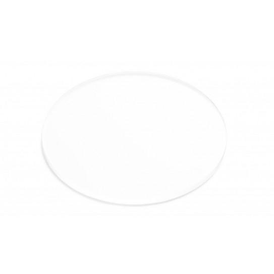 Disco in Plexiglas® bianco opalino